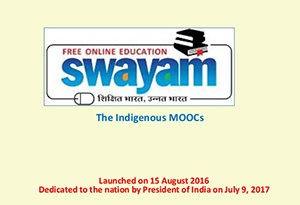 Expert Panel Recommends Upgradation of SWYAM to a Virtual University